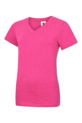 Ladies V Neck T-Shirt UC319