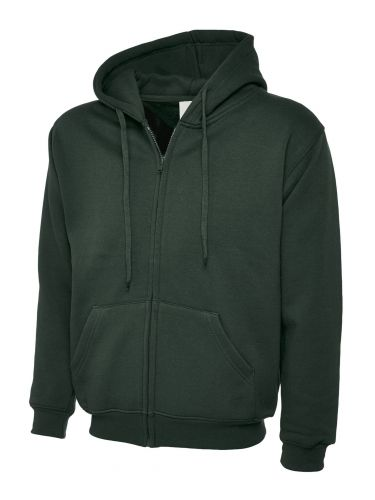 Mens Original GLASS Hoody Full Zip UC504