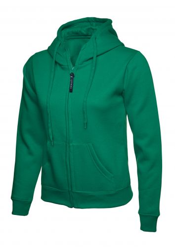 Ladies Full Zip Hoody UC505