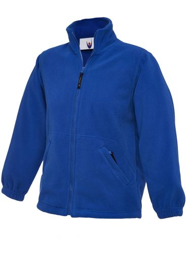 Childrens Full Zip Fleece UC603