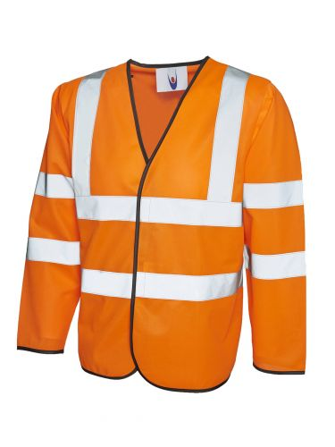HiViz Vest Long Sleeve UC802